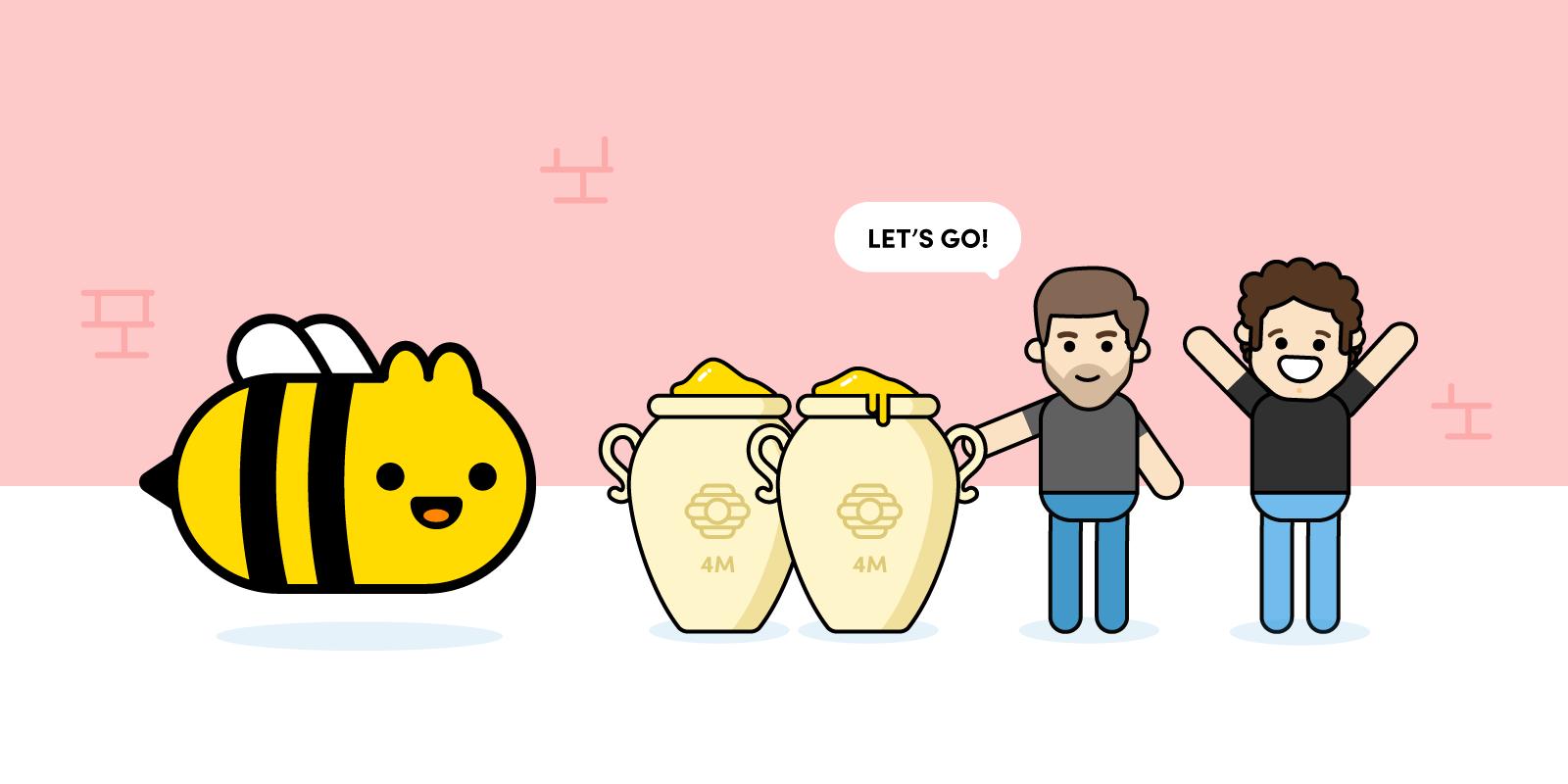 Tom and Scott investing in honey