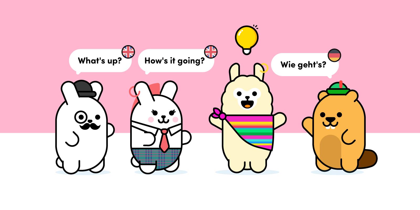 Bunny dice hello