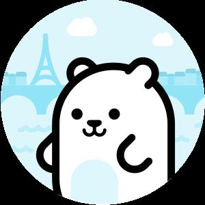 A talking bear