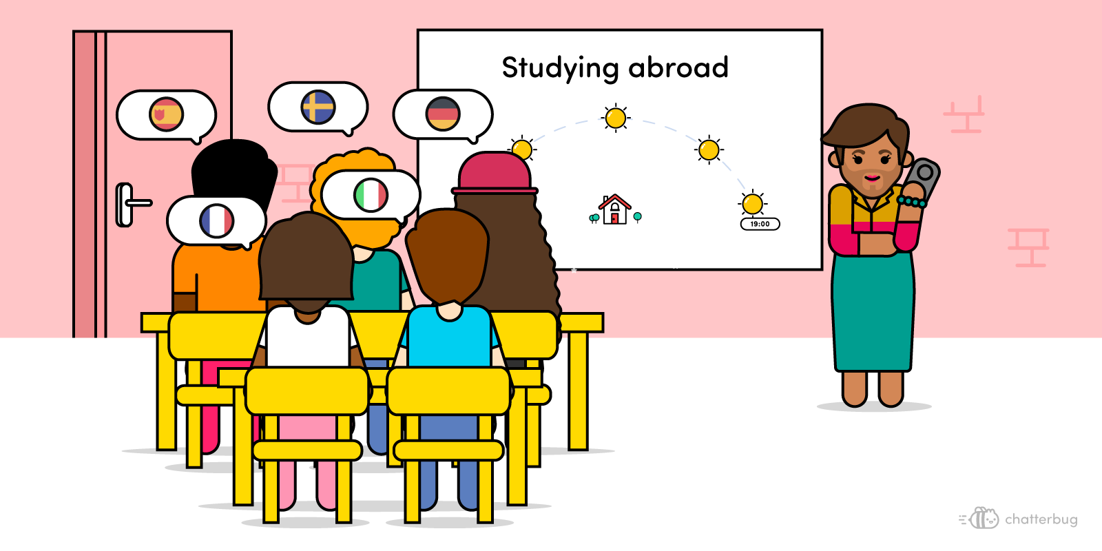 The 5 languages students are learning when studying abroad image