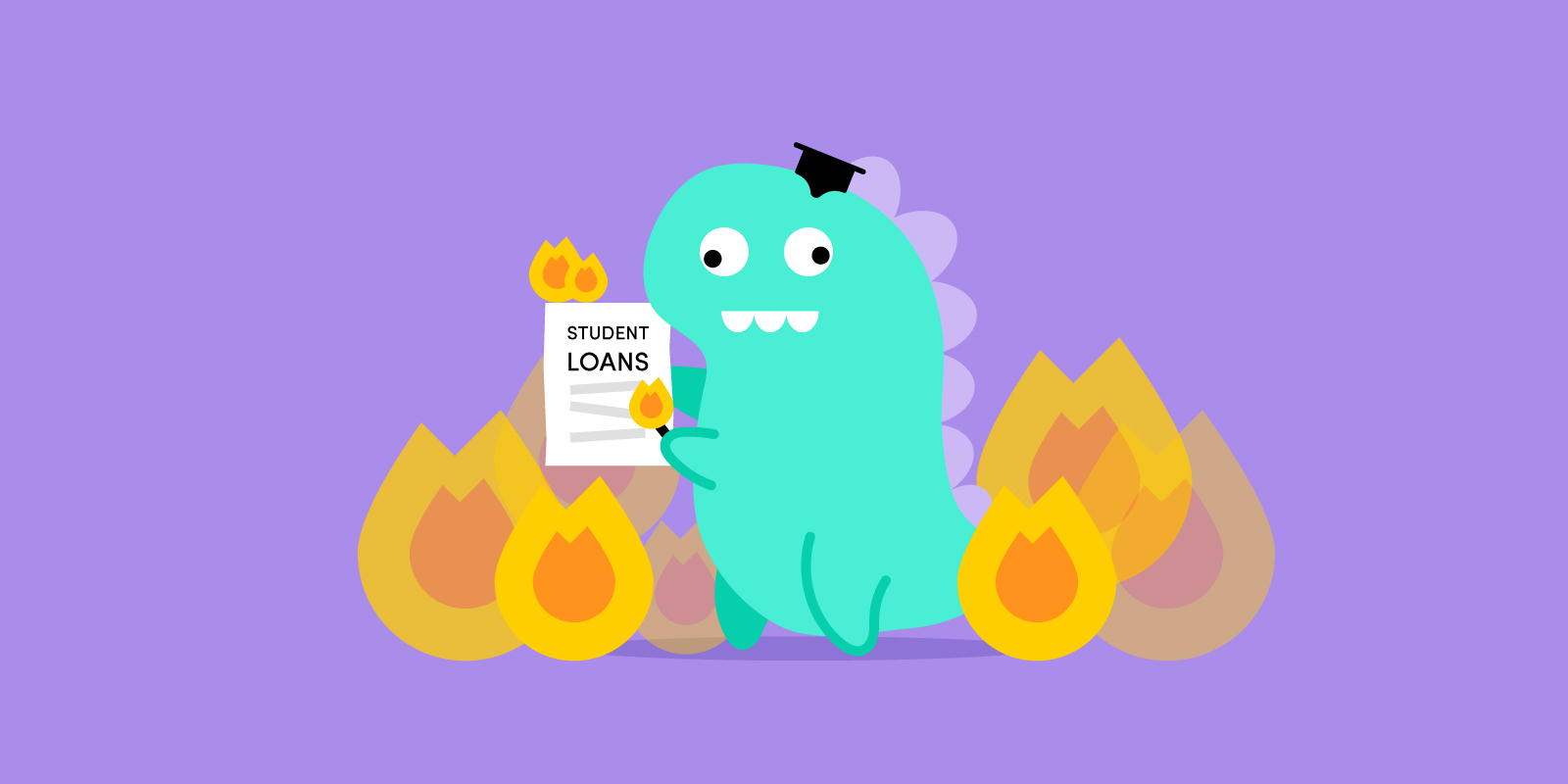 Burning the student's loan
