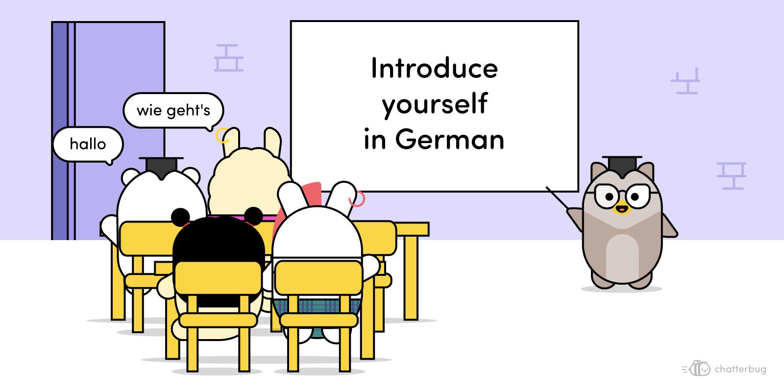 Intensive German courses