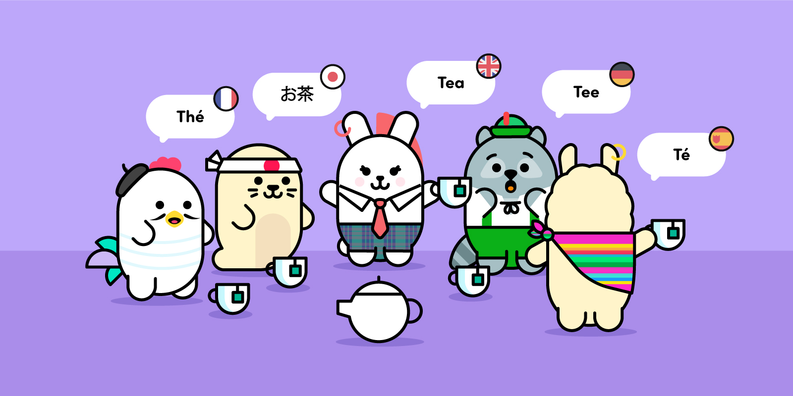 Saying Tea in Different Languages